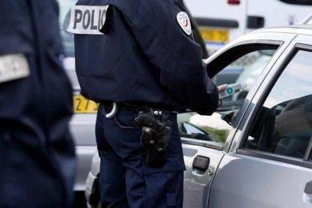 Alcootest lors d'un controle de police