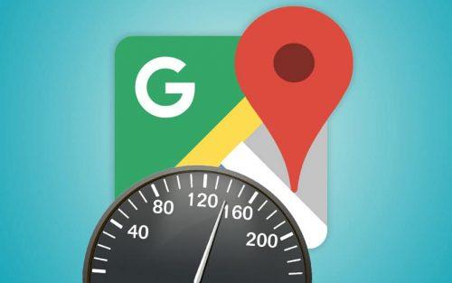 Un compteur de vitesse dans Google Maps comme Waze