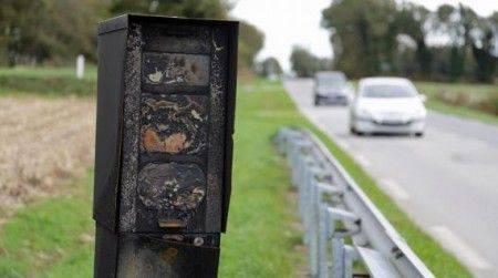 carte des radars vandalises