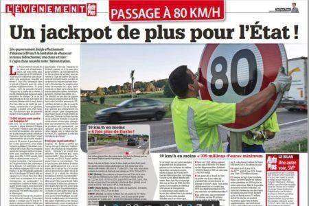 Limitation de vitesse à 80 km/h : la nouvelle pompe à fric du gouvernement ?