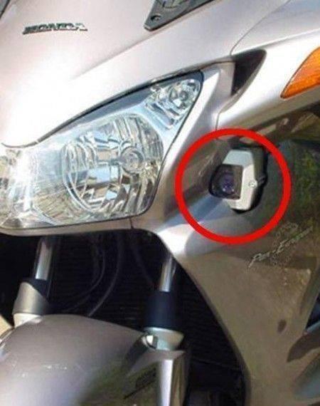 Nouveaux radars mobiles sur motos de police