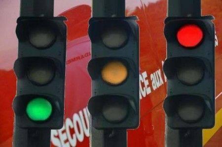 Radar de feu rouge : PV pour laisser passer les pompiers