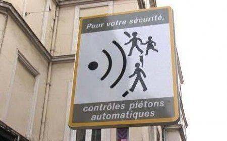 Radar pour piéton à Rouen