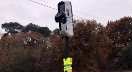 Les radars tourelles déjà vandalisés
