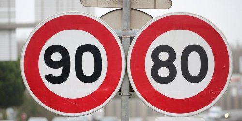 Liste des 48 départements qui souhaitent revenir aux 90 km/h