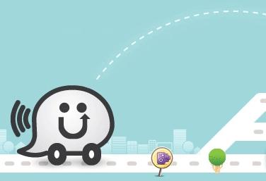 Waze : GPS social gratuit pour smartphone
